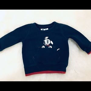 Gap Disney's 101 Dalmatians sweatshirt 6-12 mos
